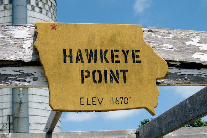 Hawkeye Point (Near Sibley, Iowa)