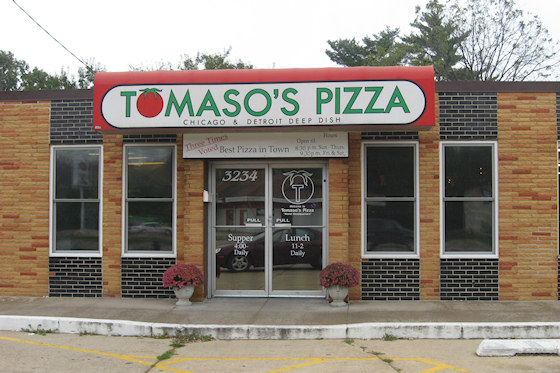 Tomaso's Pizza (Cedar Rapids, Iowa)