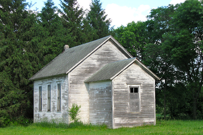 Former School (Mt. Etna, Iowa)