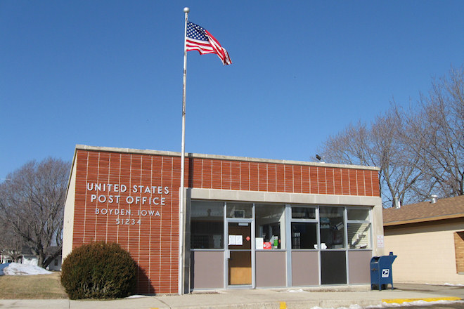 Post Office 51234 (Boyden, Iowa)