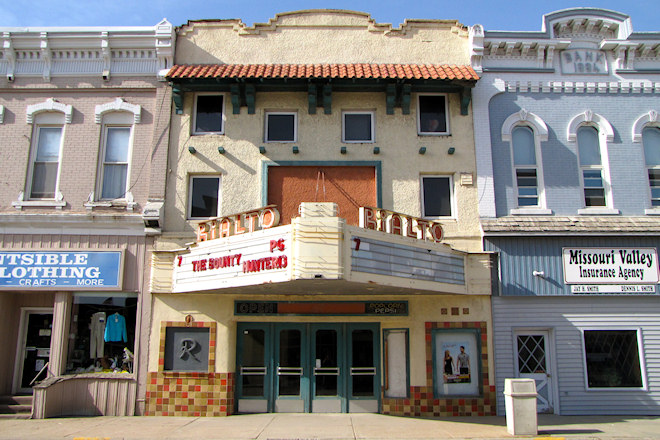 rialto theatre missouri valley iowa iowa backroads