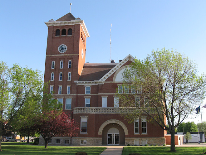 Wright County Courthouse (Clarion, Iowa)