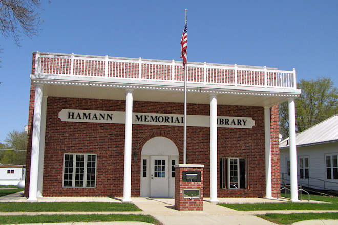 Hamann Memorial Library (Anthon, Iowa)