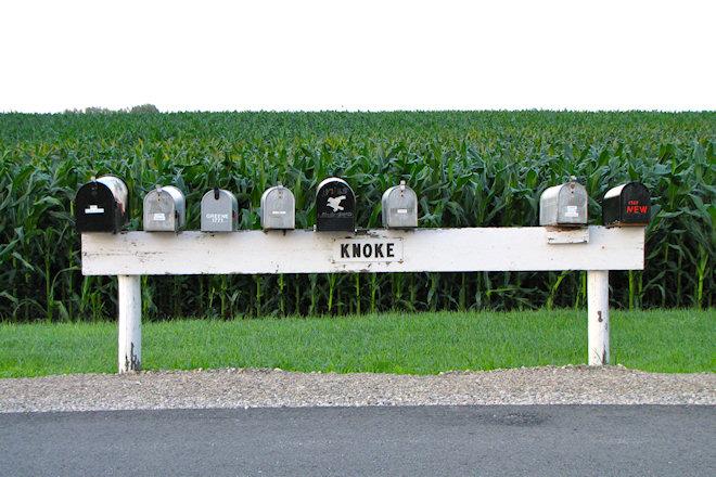 Mailboxes (Knoke, Iowa)