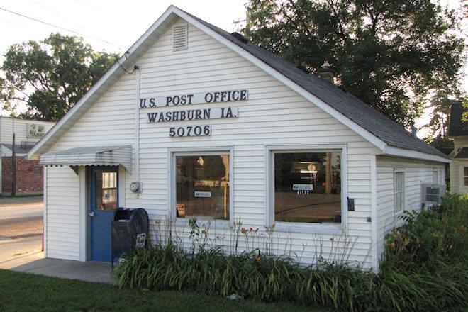 Former Post Office 50706 (Washburn, Iowa)