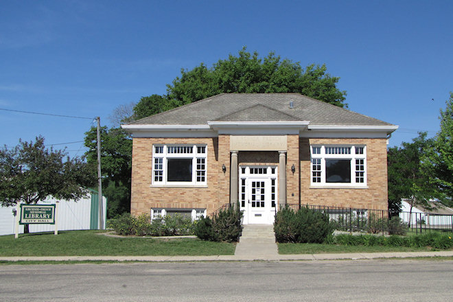 Kirchner-French Memorial Library (Peterson, Iowa)