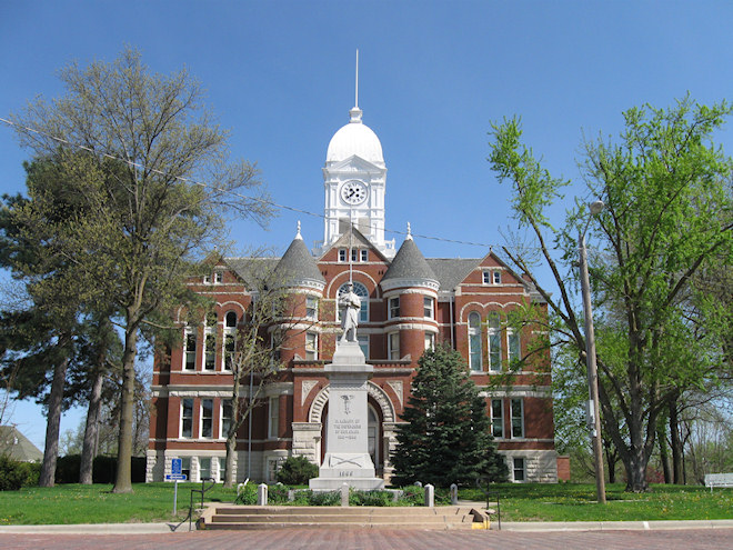 Taylor County Courthouse (Bedford, Iowa)