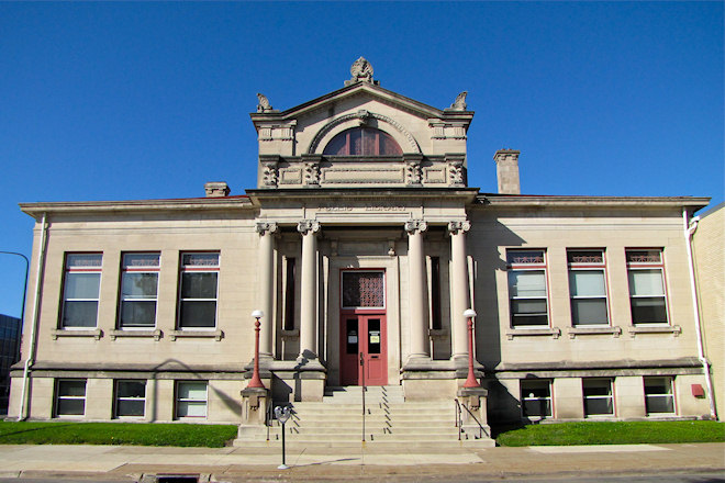 East Carnegie Library Building (Waterloo, Iowa)