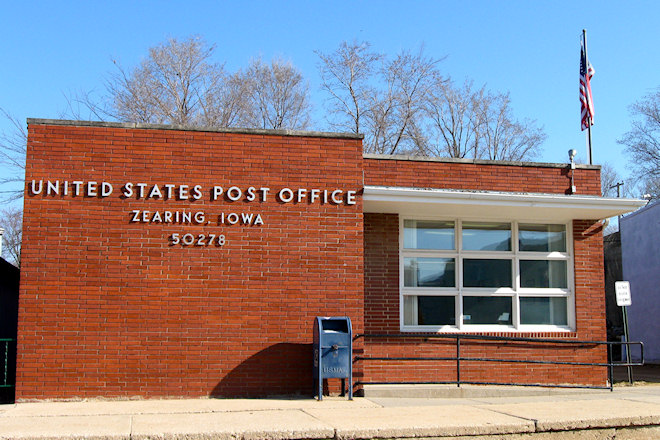 Post Office 50278 (Zearing, Iowa)