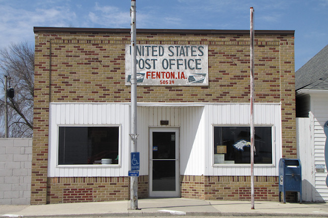 Post Office 50539 (Fenton, Iowa)