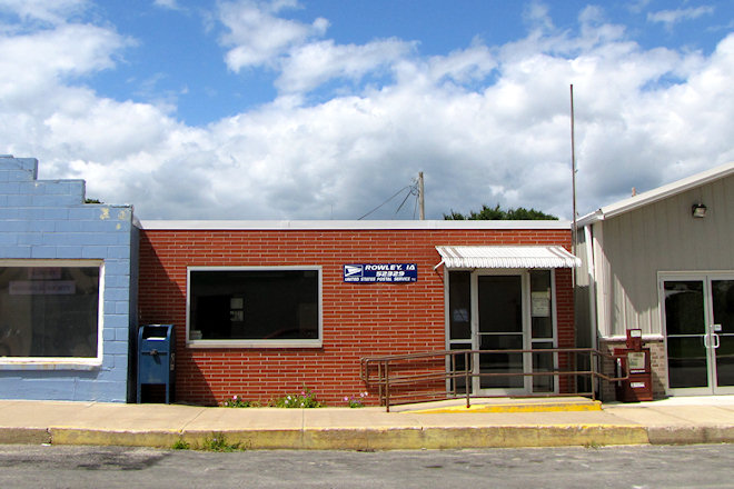Post Office 52329 (Rowley, Iowa)