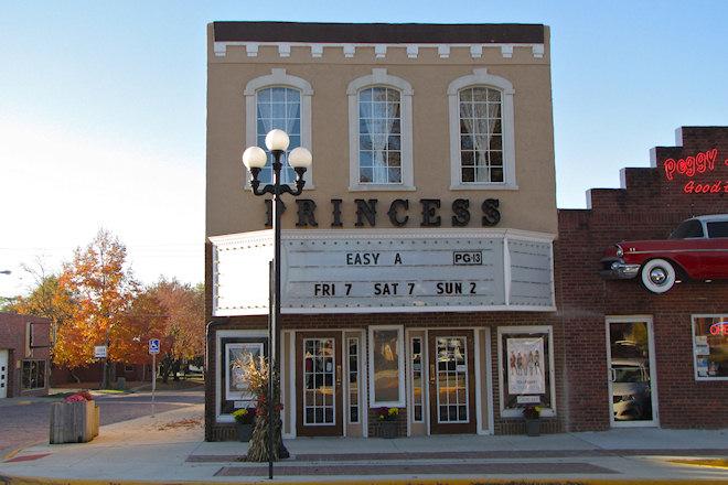 Princess Theater (Mt. Ayr, Iowa)