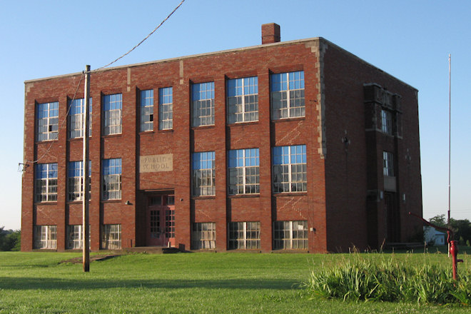 Former School (Hillsboro, Iowa)