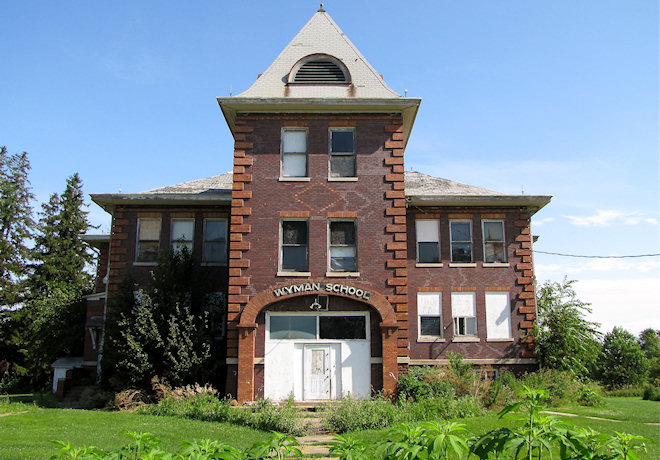 Former School (Wyman, Iowa)