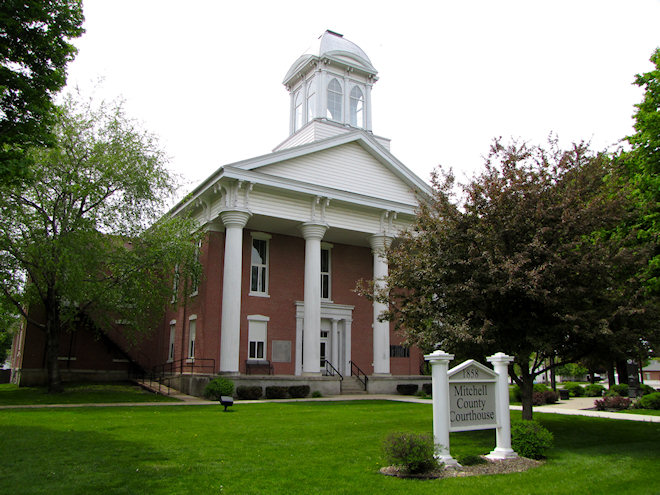 Mitchell County Courthouse (Osage, Iowa)