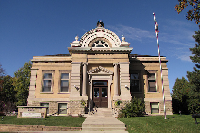 Carnegie-Ellsworth Library Building (Iowa Falls, Iowa)