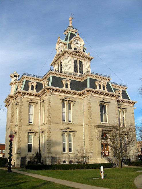 Davis County Courthouse (Bloomfield, Iowa)