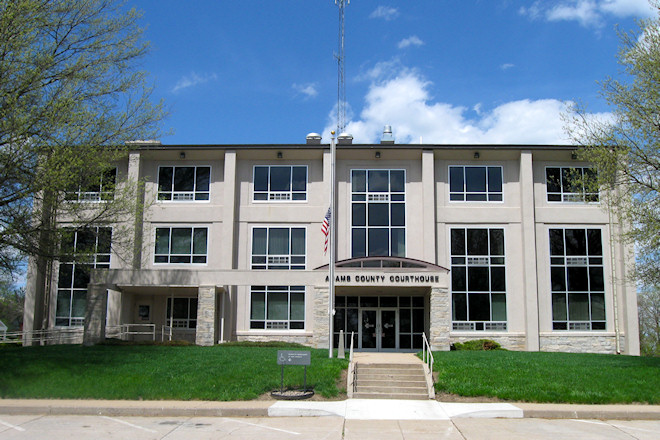 Adams County Courthouse (Corning, Iowa)