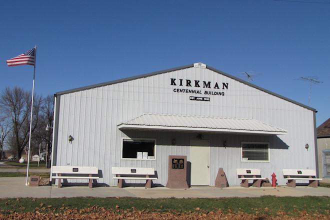 Centennial Building (Kirkman, Iowa)