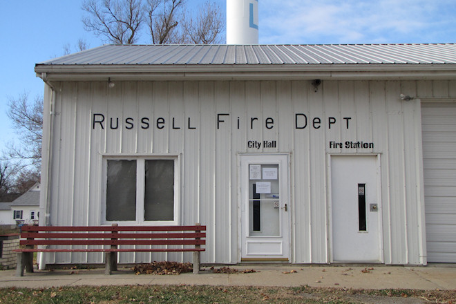 City Hall and Fire Department (Russell, Iowa)