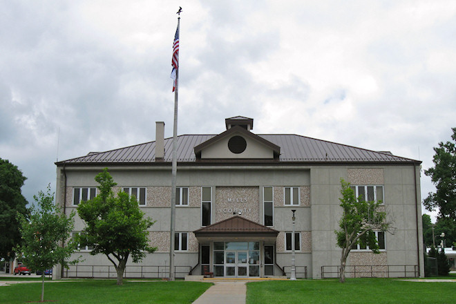 Mills County Courthouse (Glenwood, Iowa)