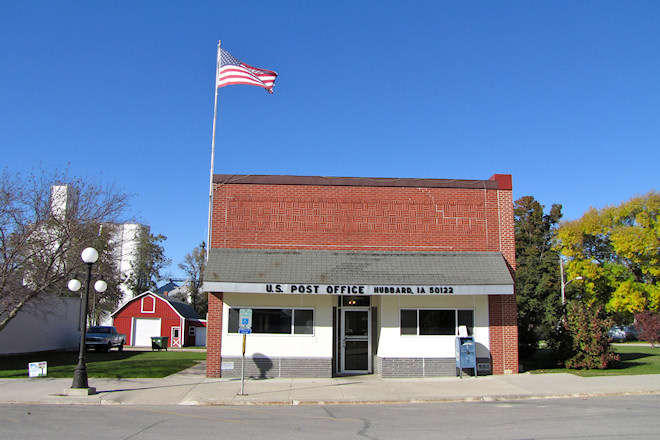 Post Office 50122 (Hubbard, Iowa)