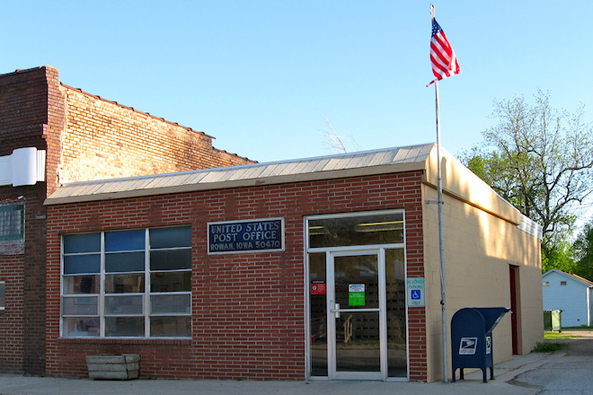 Post Office 50470 (Rowan, Iowa)