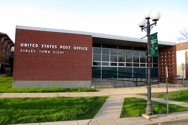 Post Office 51249 (Sibley, Iowa)