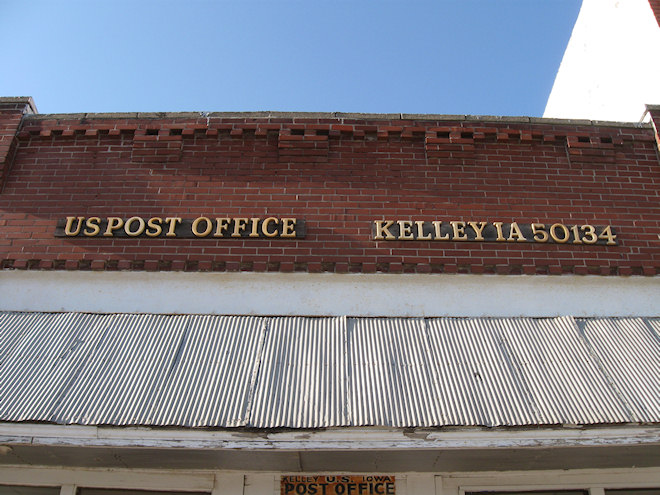 Post Office 50134 (Kelley, Iowa)