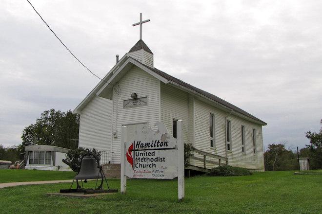 United Methodist Church (Hamilton, Iowa)