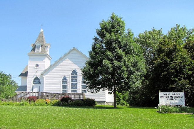 United Methodist Church (West Grove, Iowa)