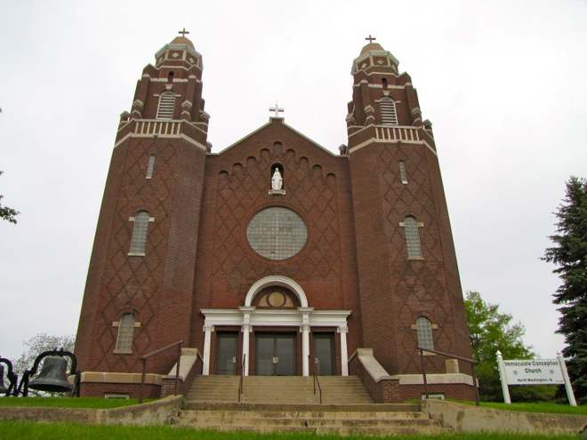 Immaculate Conception Catholic Church (North Washington, Iowa)