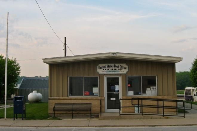 Post Office 50151 (Lucas, Iowa)