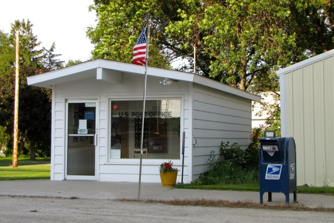 Former Post Office 50612 (Buckingham, Iowa)