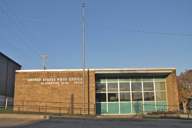 Post Office 50635 (Gladbrook, Iowa)