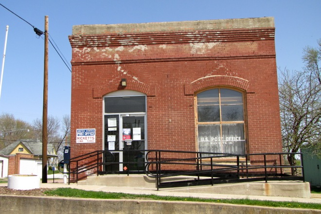 Post Office 51460 (Ricketts, Iowa)