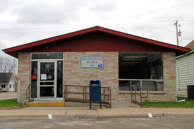 Post Office 52160 (New Albin, Iowa)