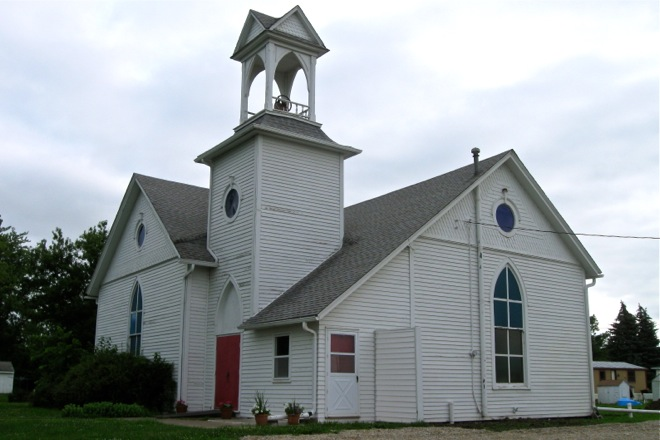 United Methodist Church (Liberty Center, Iowa)