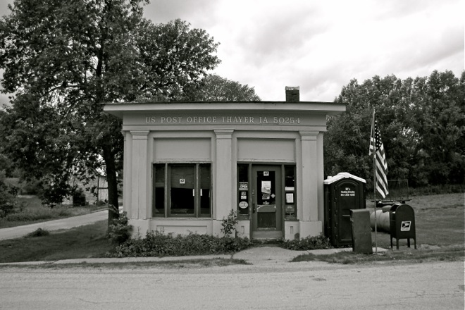 Post Office 50254 (Thayer, Iowa)