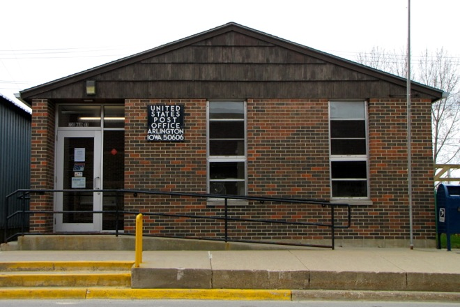 Former Post Office 50606 (Arlington, Iowa)