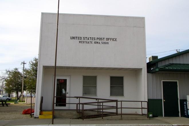 Former Post Office 50681 (Westgate, Iowa)