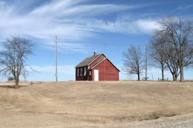 Pleasant Hill Rural School (Near Lineville, Iowa)