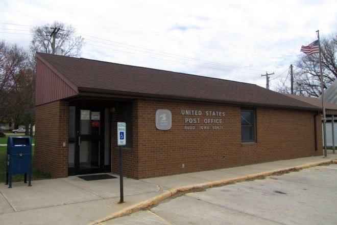 Post Office 50471 (Rudd, Iowa)