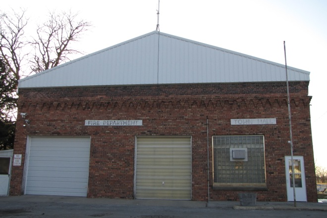 Town Hall and Fire Department (Harcourt, Iowa)