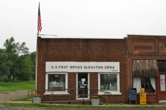 Post Office 50836 (Blockton, Iowa)