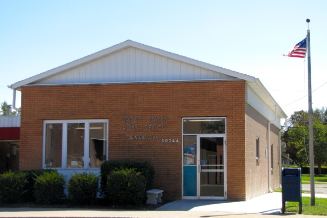 Post Office 50244 (Slater, Iowa)